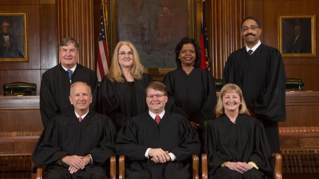North Carolina Supreme Court justices, 2018