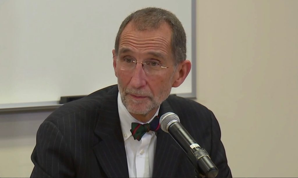Dr. William Roper, interim president of the UNC System. (CJ file photo)