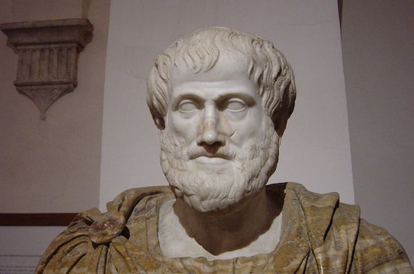 Greek philosopher Aristotle. (Ludovisi Collection, Giovanni Dall'Orto March)