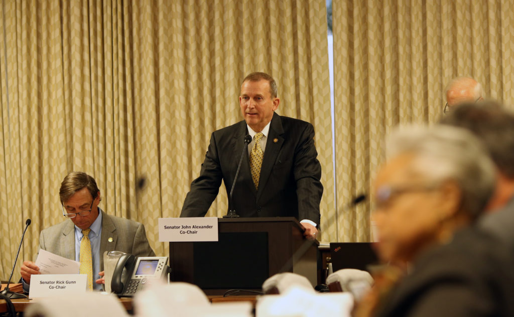 Senate Majority Leader Harry Brown, R-Onslow, in April 2019. (CJ photo by Don Carrington)