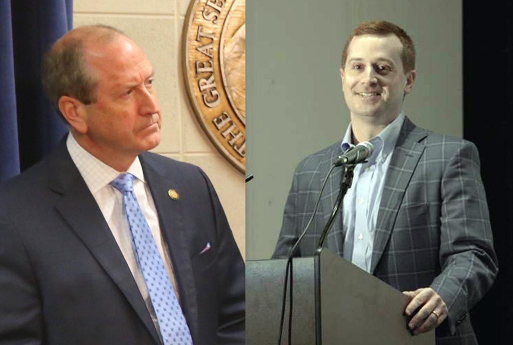 9th Congressional District candidates Dan Bishop (R), left, and Dan McCready (D). (CJ file photo of Bishop; McCready photo from campaign Facebook page)