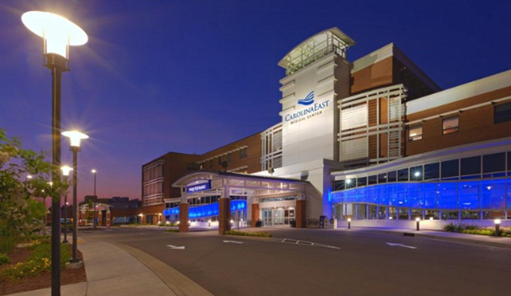 CarolinaEast Medical Center in New Bern. (Photo from CarolinaEast website)