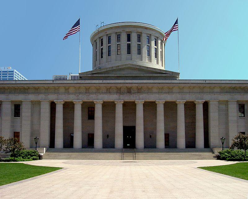 The Ohio Statehouse in Columbus. (Wikipedia image)