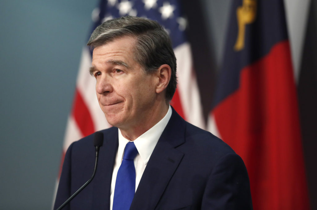 Gov. Roy Cooper (Pool photo)