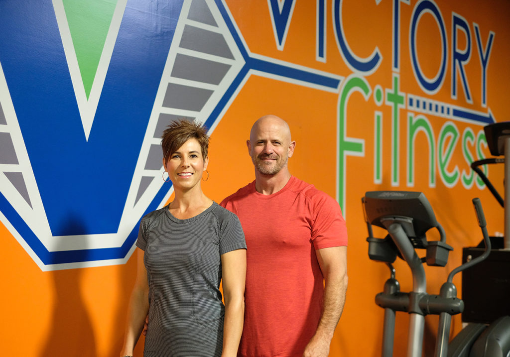 Ann and Neil Strother of Victory Fitness in Wilson, NC (Photo courtesy of Victory Fitness)