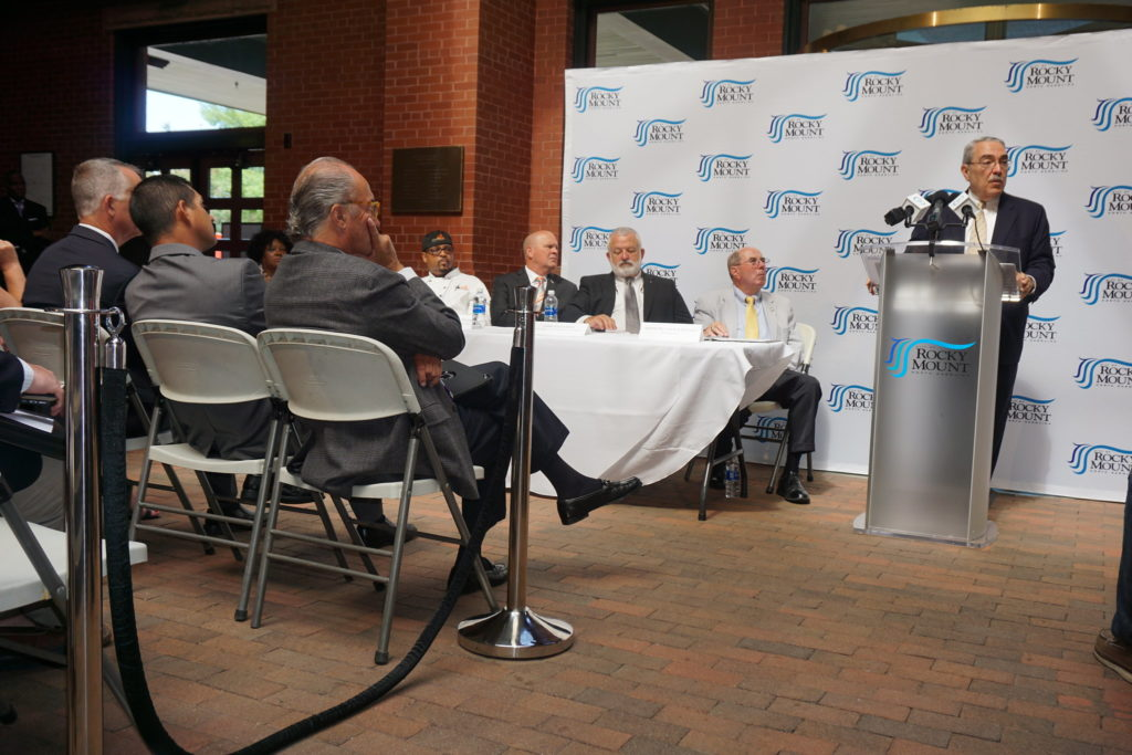 Rep. G.K. Butterfield, D-1st District, at a 2017 forum in Rocky Mount. (Photo from congressman's Flickr account)