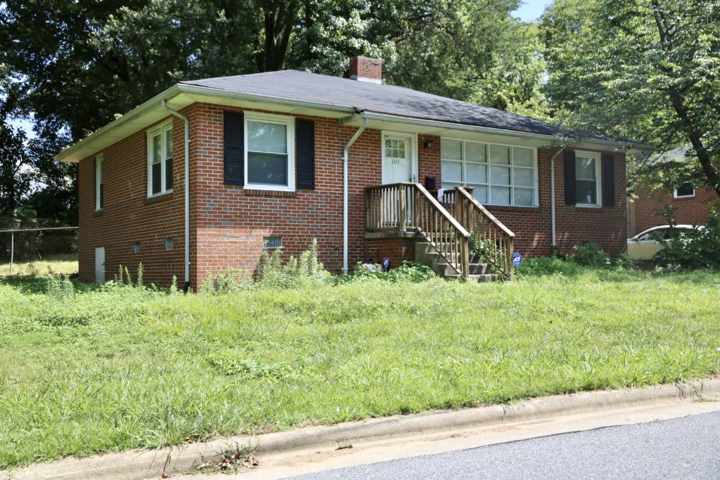 J.D. Wooten used a VA loan in March 2019 to buy this house at 102 S. Lindell Rd., Greensboro. He doesn't live there and didn't claim it as his residence when he filed to run in Senate District 24. (CJ photo by Don Carrington)