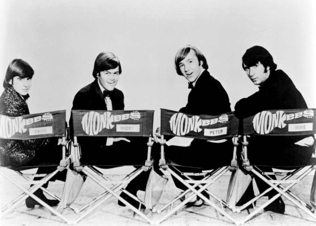 The Monkees (Public domain image from Wikimedia Commons)