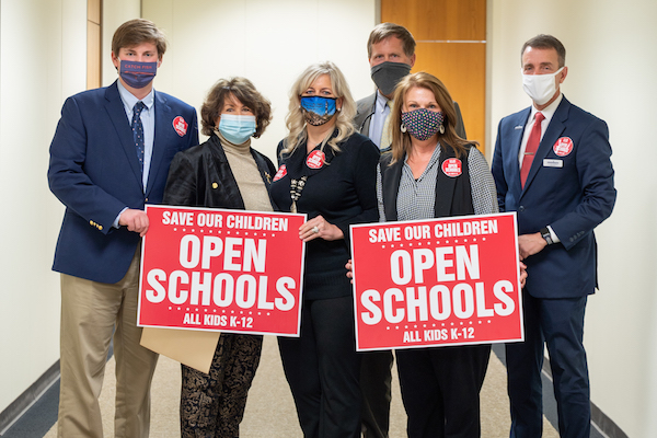 Republican lawmakers are now planning to introduce a series of local bills to reopen schools. (CJ photo by Maya Reagan)