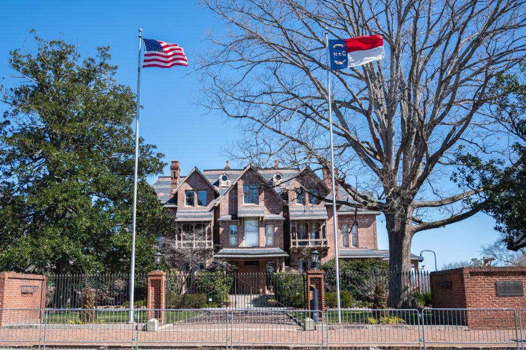 North Carolina's Executive Mansion (CJ photo by Maya Reagan)