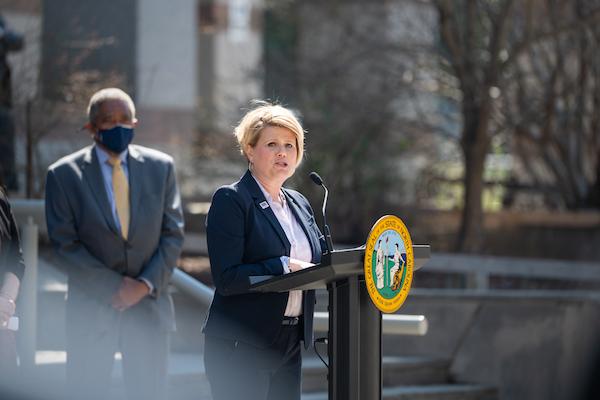 State Superintendent of Public Instruction Catherine Truitt. (CJ photo by Maya Reagan)