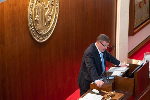 Tim Moore, speaker of the House. (CJ photo by Maya Reagan)