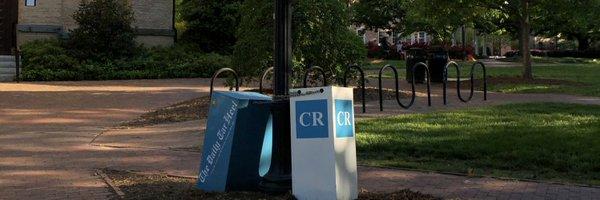 Carolina Review distribution box on UNC Chapel Hill campus. via Twitter