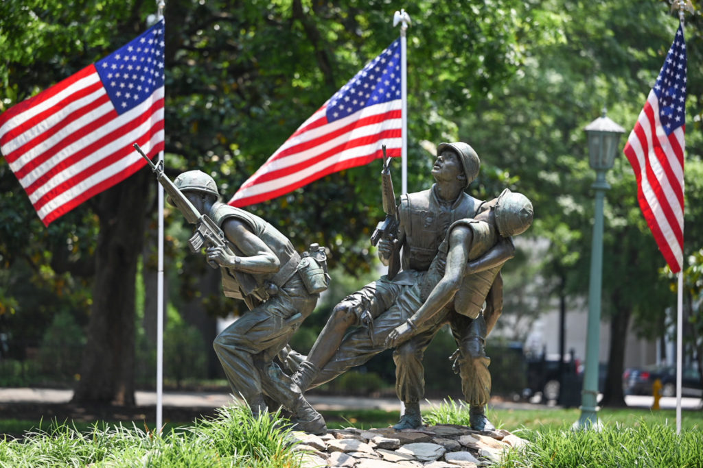 Vietnam Veterans Memorial, Raleigh.