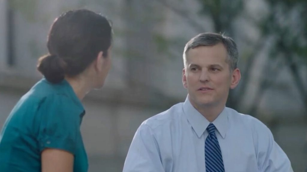 Image from Josh Stein campaign ad