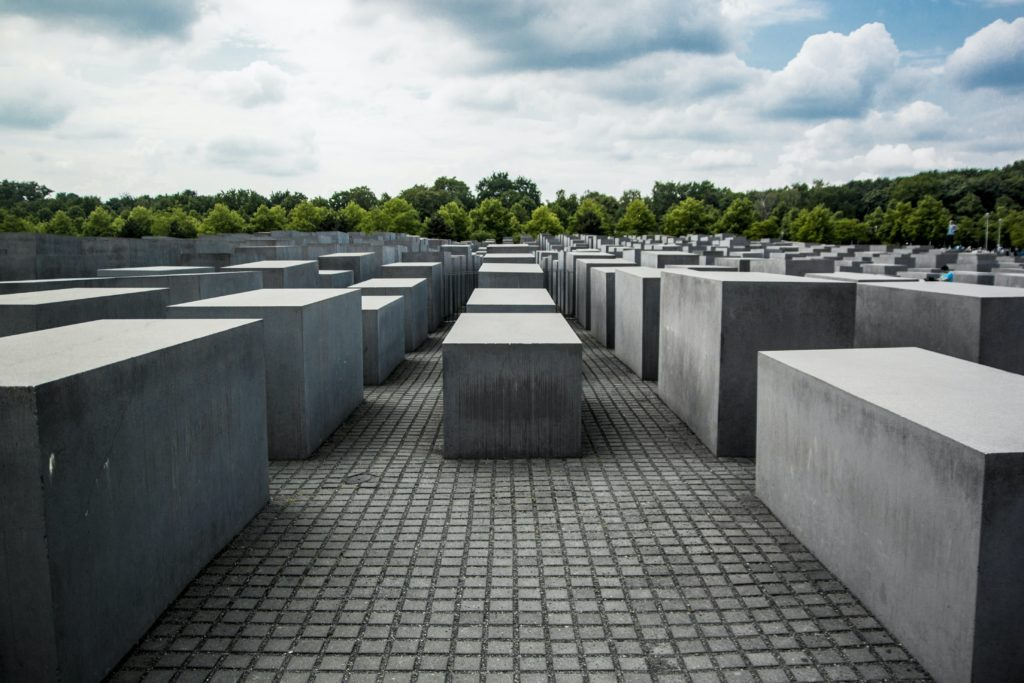 A Berlin memorial to the murdered Jews of Europe.
