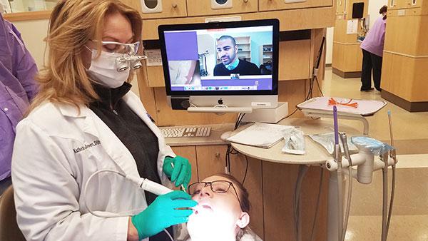 Teledentistry services are offered by ECU School of Dental Medicine. File image courtesy of ECU