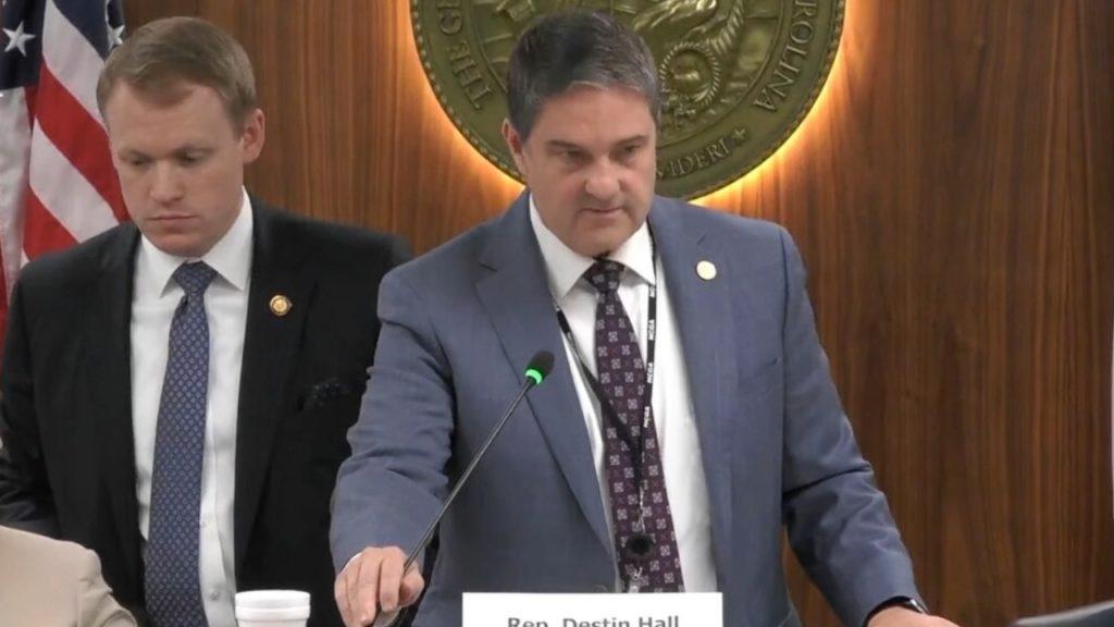 Sen. Warren Daniel, R-Burke (Image from YouTube)