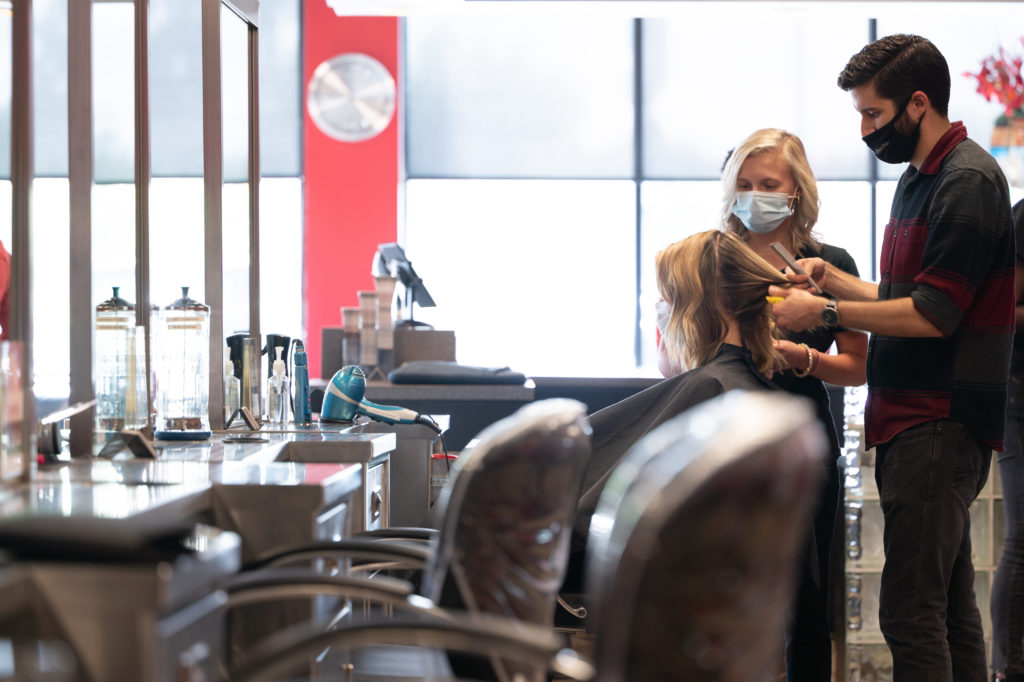 Occupational licensing reform is one front in the effort to lower the cost and time for entry into some fields, including hair stylists. (CJ photo by Maya Reagan)