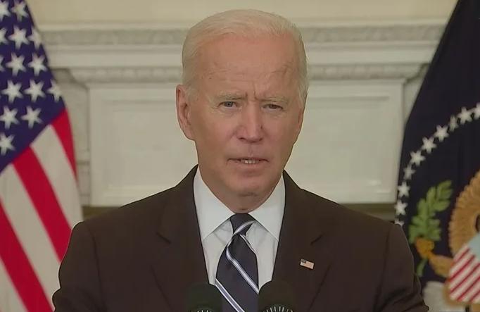 President Joe Biden discusses his vaccine mandate on Sept. 9, 2021. (Image from C-SPAN)
