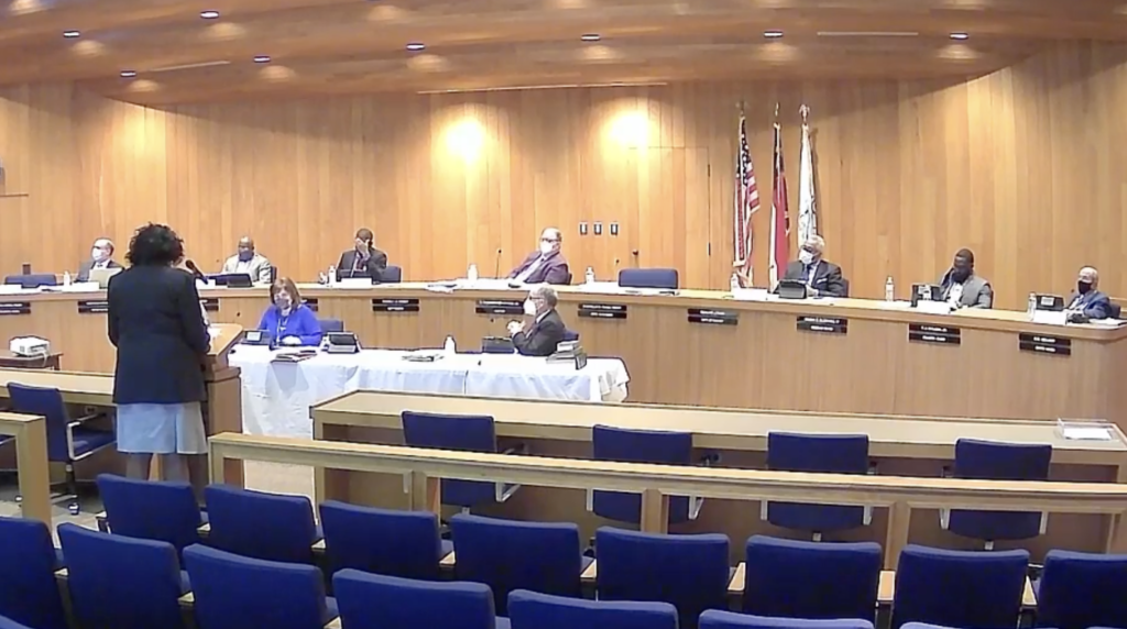 Rocky Mount City Council meets on March 8, 2021. image via Facebook.