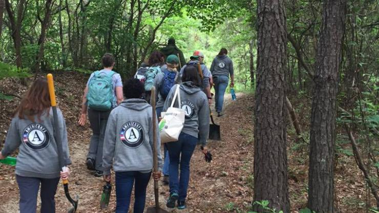 File image of AmeriCorps volunteers. Image from https://www.nc.gov/volunteer