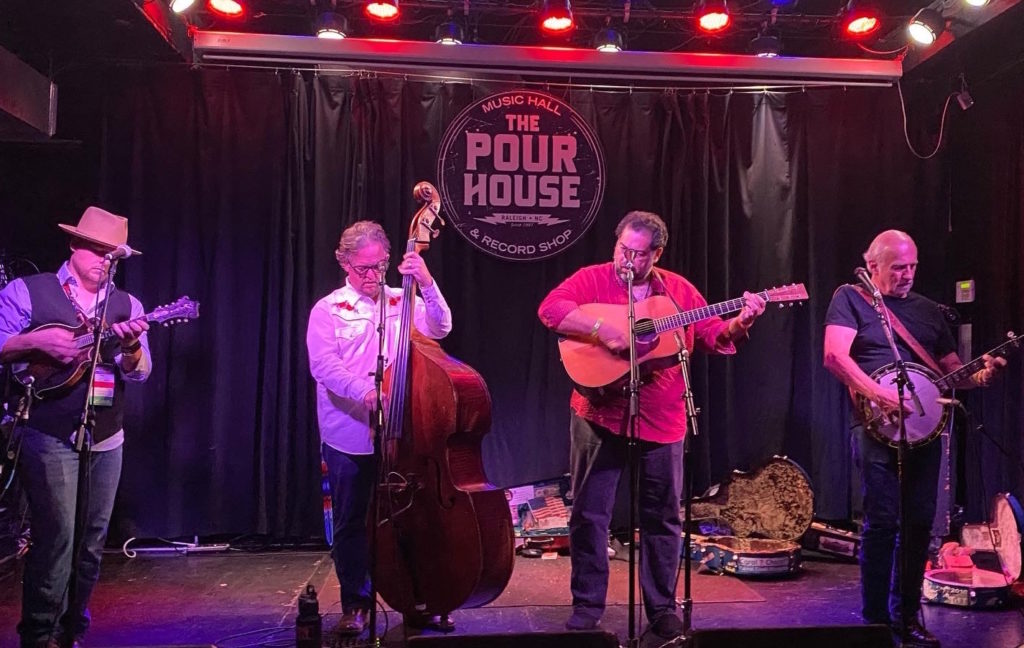 Bluegrass band Special Consensus, Tuesday at the Pour House in Raleigh. (Photo by Lisa Snedeker)