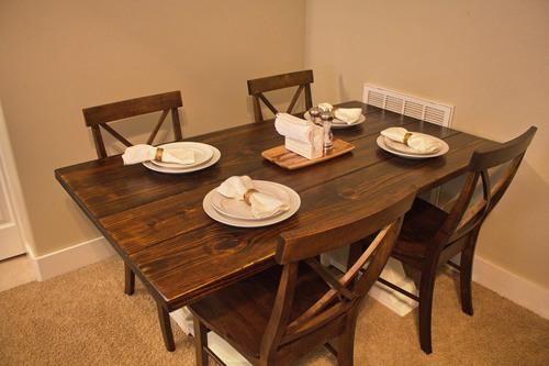 X Back Dining Chair James James Furniture Springdale