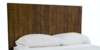Standard Queen Forester Headboard in Dark Walnut stain.