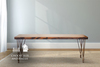 Contemporary Bench stained Early American