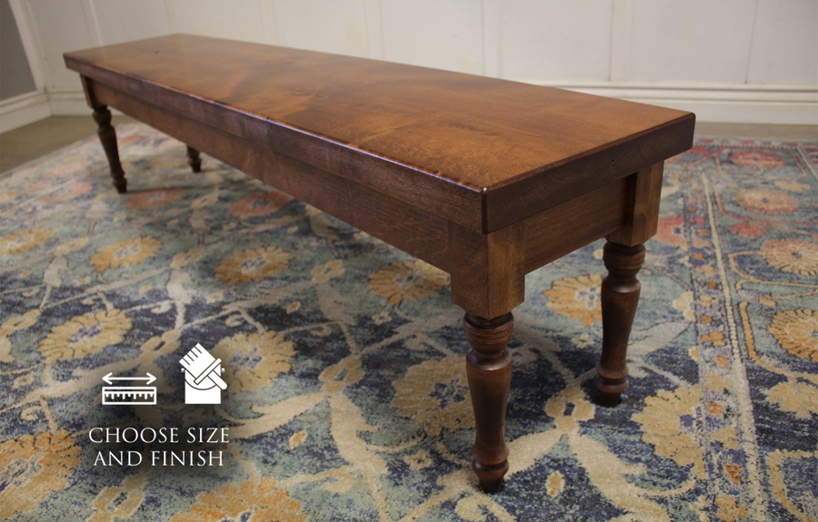 Dianne Bench in a Tuscany Finish