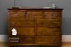 9 Drawer Dresser in Dark Walnut stain.