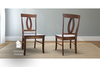 Elizabeth Wood Dining Chair stained Dark Walnut