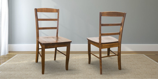 Emma Wood Dining Chair stained Early American