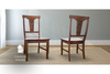 Grace Wood Dining Chair in Kona stain
