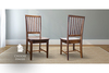 Jane Wood Dining Chair stained Dark Walnut