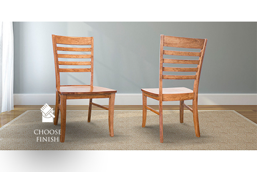 Thomas Wood Dining Chair stained Early American