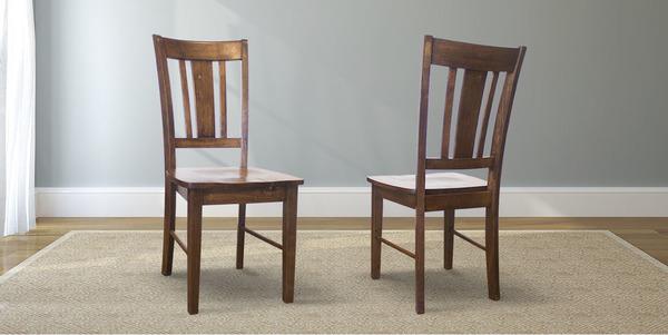 William Wood Dining Chair stained Dark Walnut