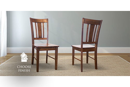 William Wood Dining Chair stained Dark Walnut
