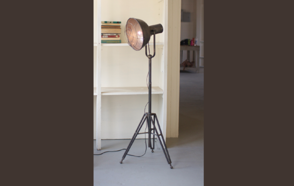 Caged Studio Floor Lamp