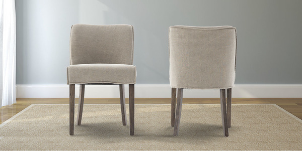 Stone Twill Aria Dining Chair