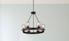 6 Light Oil Rubbed Bronze Chandelier