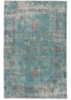 Eris Contemporary Rug, Porcelain Green & Chili Pepper Color
