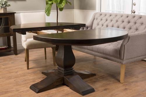 Expandable Round Heirloom Pedestal Table James James