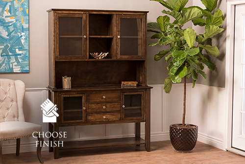 Contemporary Buffet and Hutch