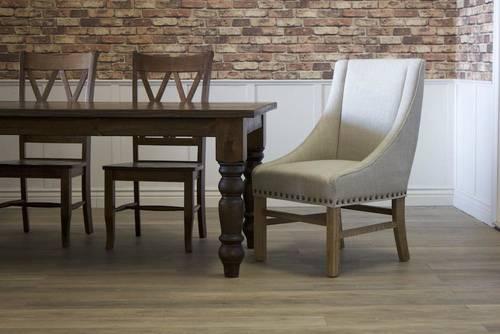 Sarah Upholstered Dining Chair With Nailhead Trim James