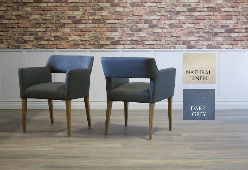 Dark Grey Jensen Dining Chair