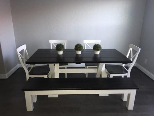 Trestle Table James James Furniture Springdale Arkansas