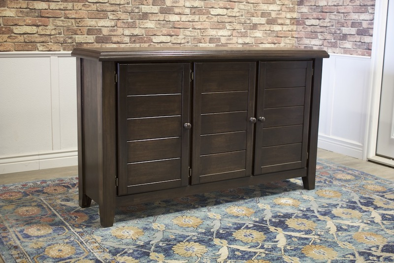 Sadie Sideboard in Tobacco Finish.