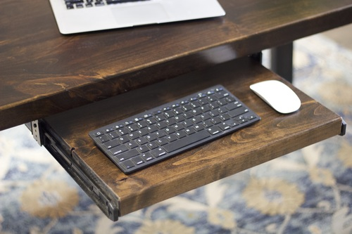 Merveilleux Customize Your Desk With Keyboard Tray Add On. ...